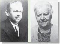 Henri Janssen y su esposa