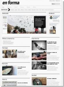revista colombófila en forma realfede