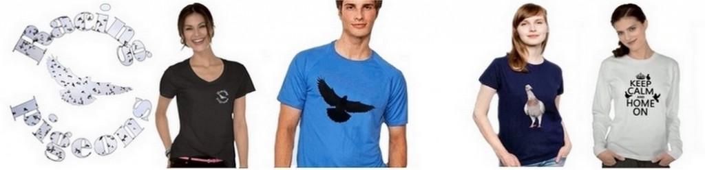 camisetas para colombófilos