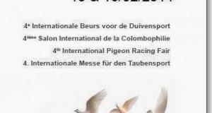 fugare exposición colombófila en Bélgica 2014