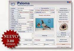 Software Pigeon Loft Organizer