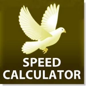 app speed calculator racing pigeons
