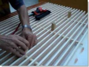 como construir rejilla para palomar
